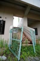 みちのく鹿島球場スタンドへの階段